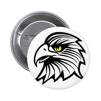 Head of eagle button
