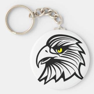 Head of eagle keychain