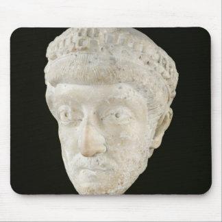 Head of Emperor Theodosius II Mouse Pad
