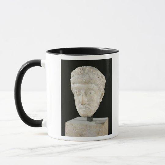 Head of Emperor Theodosius II Mug