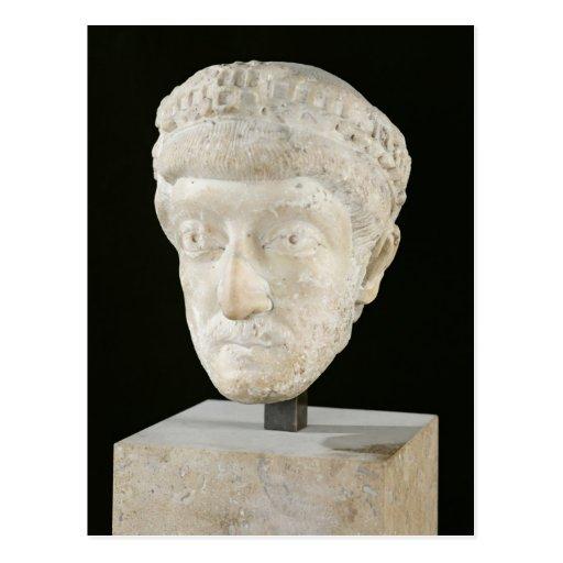 Head of Emperor Theodosius II Postcards