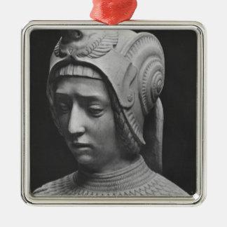 Head of Fortitude Metal Ornament