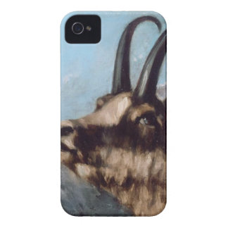 Head of Gazelle by Gustave Courbet iPhone 4 Case-Mate Case