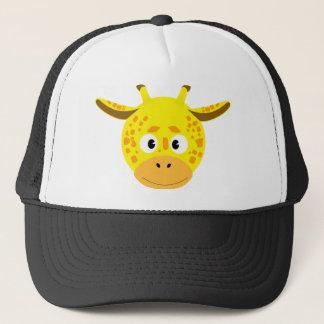 Head of Giraffe Trucker Hat