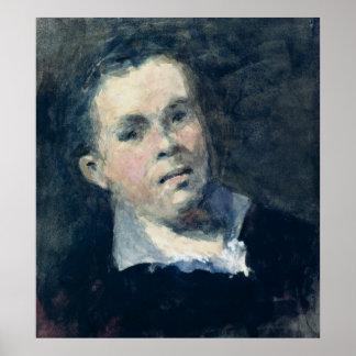Head of Goya Poster