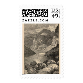 Head of Grand Canyon Postage Stamp