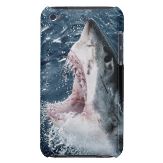 Head of Great White Shark iPod Touch Cover