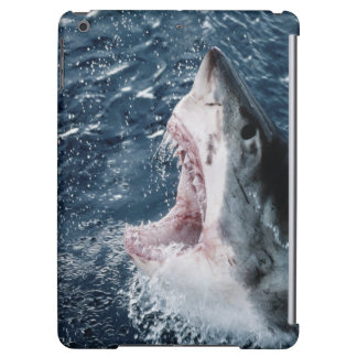 Head of Great White Shark iPad Air Cases