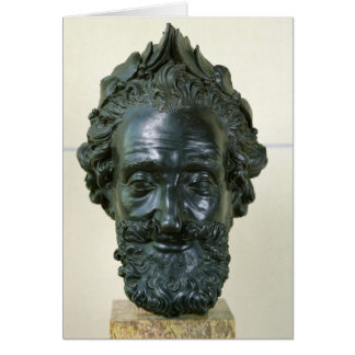 Head of Henri IV  after 1599 Card
