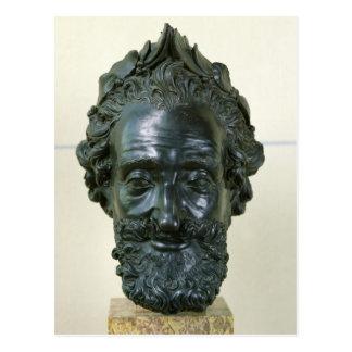 Head of Henri IV  after 1599 Postcard