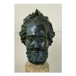 Head of Henri IV  after 1599 Poster