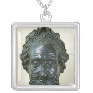 Head of Henri IV  after 1599 Silver Plated Necklace
