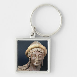 Head of Hermes wearing a pilos Key Chains