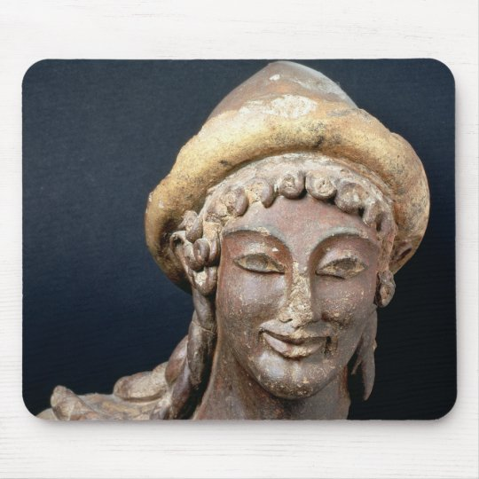 Head of Hermes wearing a pilos Mouse Pad