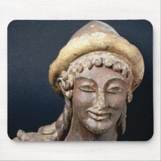 Head of Hermes wearing a pilos Mousepad