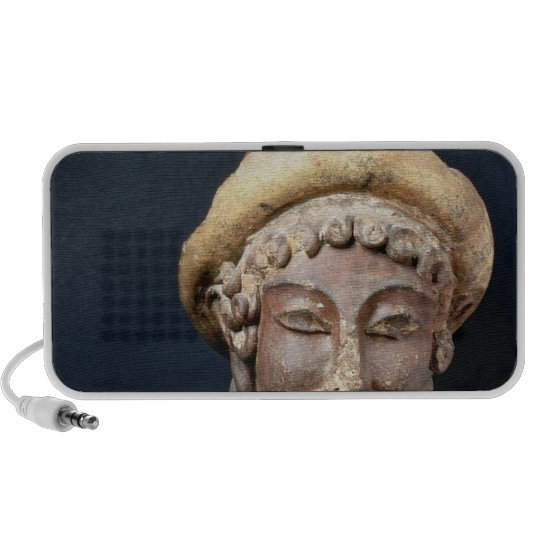 Head of Hermes wearing a pilos Portable Speaker