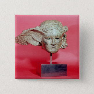 Head of Hypnos, copy of a Hellenistic original Button