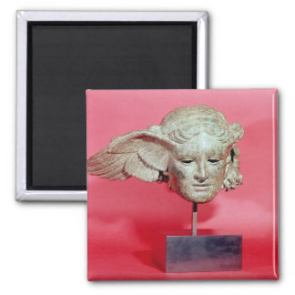 Head of Hypnos, copy of a Hellenistic original Magnet