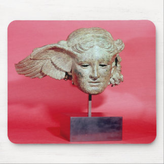 Head of Hypnos, copy of a Hellenistic original Mouse Pad