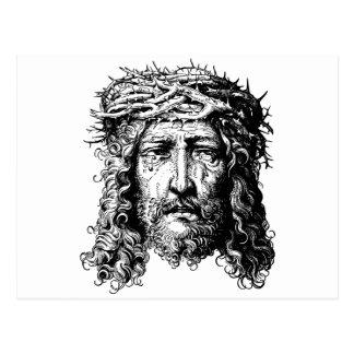 Head of Jesus Christ Postcard