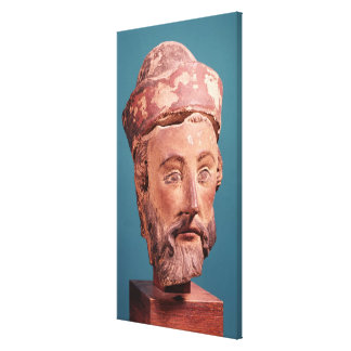 Head of Joseph of Arimathaea Canvas Print