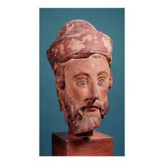 Head of Joseph of Arimathaea Poster