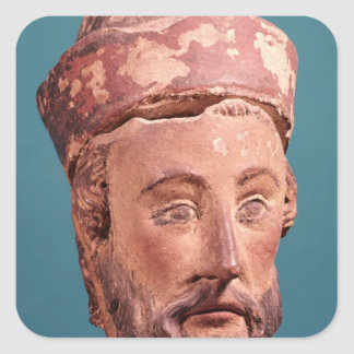 Head of Joseph of Arimathaea Square Sticker