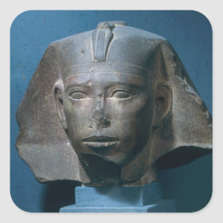 Head of King Djedefre, from Abu Roash, Old Square Sticker