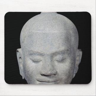 Head of King Jayavarman VII  Bayon Style Mouse Pad