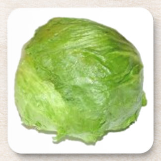 Head of Lettuce Drink Coaster