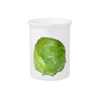 Head of Lettuce Pitcher