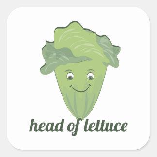 Head of Lettuce Sticker