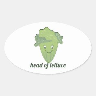 Head of Lettuce Stickers