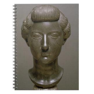Head of Livia Drusilla (56 BC-29 AD) Roman, c.30 B Spiral Note Book