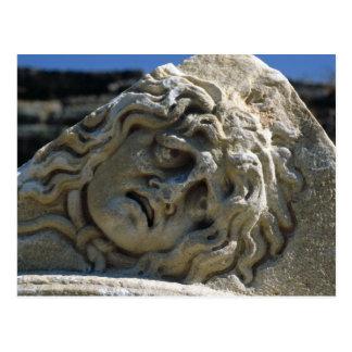 Head of Medusa Postcard