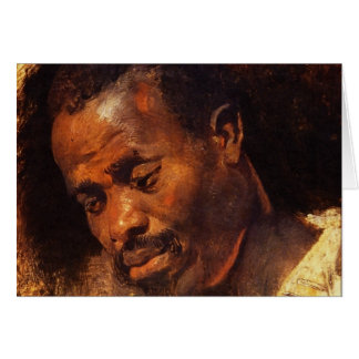 Head of Negro by Peter Paul Rubens Card