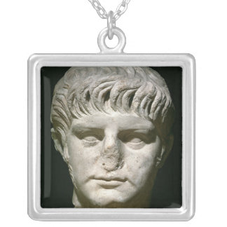 Head of Nero Silver Plated Necklace