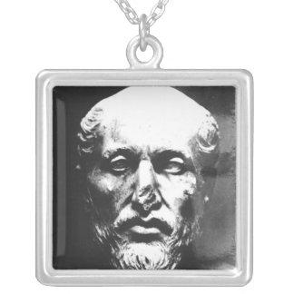 Head of Plotinus Custom Necklace