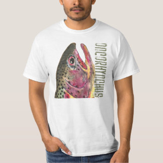 Head of Rainbow Trout Fish T-Shirt