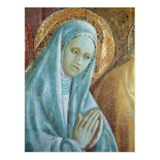 Head of Saint Anne from the Presentation of Postcard