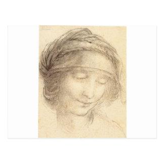 Head of Saint Anne Postcard