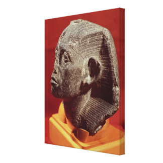 Head of Sesostris III, from Medamud near Gallery Wrap Canvas