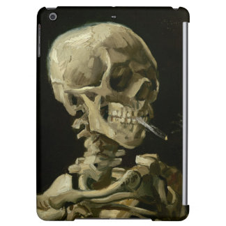 Head of Skeleton with Cigarette by Van Gogh Case For iPad Air