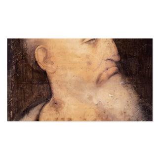 Head of St. Andrew by Leonardo da Vinci Business Cards