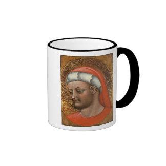 Head of St. Cosmas Ringer Coffee Mug
