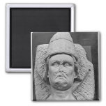 Head of the Antipope Clement VII 2 Inch Square Magnet