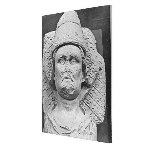 Head of the Antipope Clement VII Stretched Canvas Print