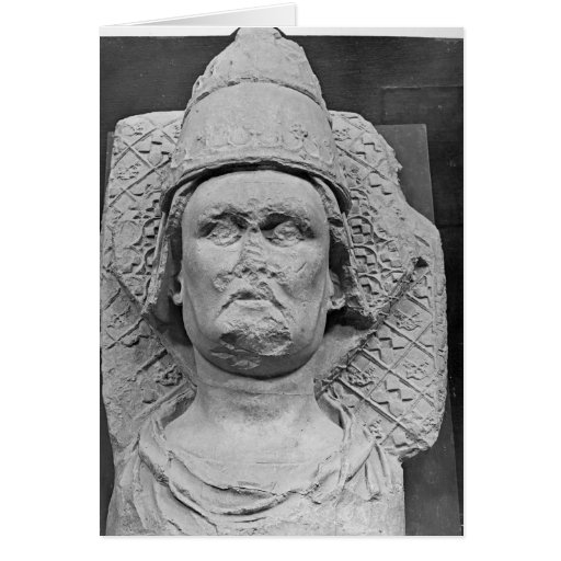 Head of the Antipope Clement VII Greeting Card