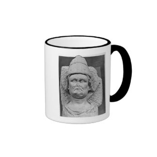 Head of the Antipope Clement VII Ringer Coffee Mug