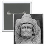 Head of the Antipope Clement VII Pinback Button